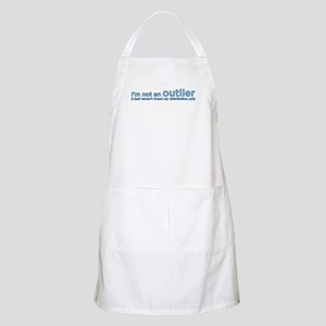 I'm not an outlier BBQ Apron