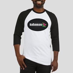 Bahamas Hibiscus Baseball Jersey