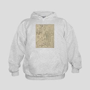 Vintage Map of Newport Rhode Island (19 Sweatshirt