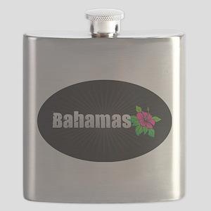 Bahamas Hibiscus Flask