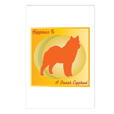 Lapphund Happiness Postcards (Package of 8)
