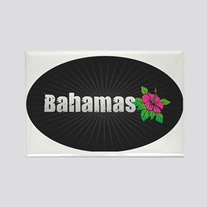 Bahamas Hibiscus Magnets