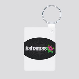 Bahamas Hibiscus Keychains
