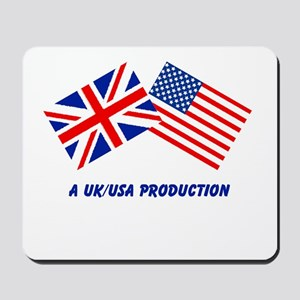 A UK/USA Production Mousepad