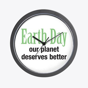Our Planet Earth Day Wall Clock