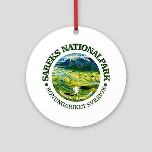 Sarek National Park Round Ornament