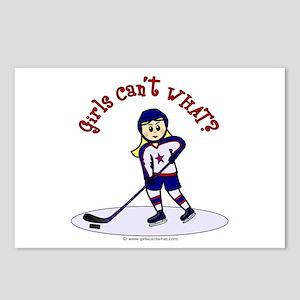Blonde Hockey Girl Postcards (Package of 8)