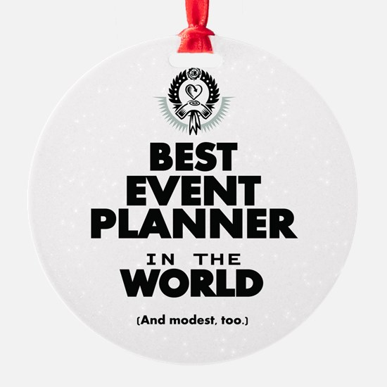 The Best in the World – Event Planner Ornament