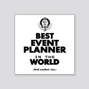 The Best in the World – Event Planner Sticker