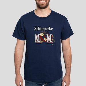 Schipperke Mom Dark T-Shirt