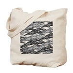 Greyhounds Leaping Art Deco Tote Bag