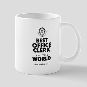 The Best in the World – Office Clerk Mugs