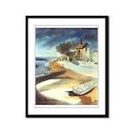 Rowboat by Elsie Batzell Framed Panel Print
