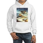 Rowboat by Elsie Batzell Hooded Sweatshirt