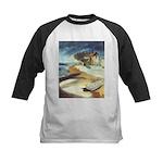 Rowboat by Elsie Batzell Kids Baseball Jersey