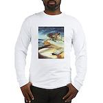 Rowboat by Elsie Batzell Long Sleeve T-Shirt