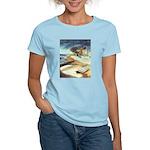 Rowboat by Elsie Batzell Women's Light T-Shirt