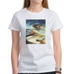 Rowboat by Elsie Batzell Women's T-Shirt