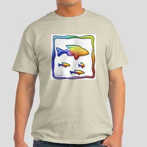 Rainbow Fish Light T-Shirt