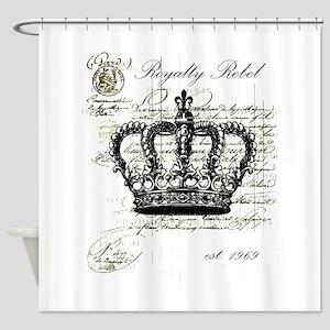 Royalty Rebel Shower Curtain