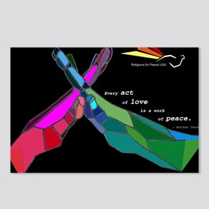 Relgions for Peace USA Acts of Love Postcards (Pac
