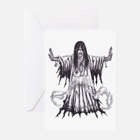 Dark Witch Greeting Cards (Pk of 10)