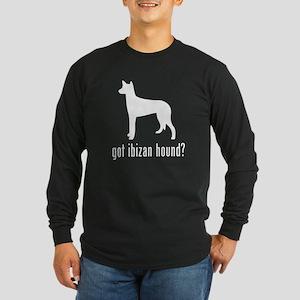 Ibizan Hound Long Sleeve Dark T-Shirt