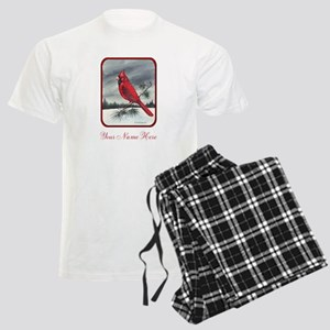 Red Northern Cardinal Bird Personalize Pajamas