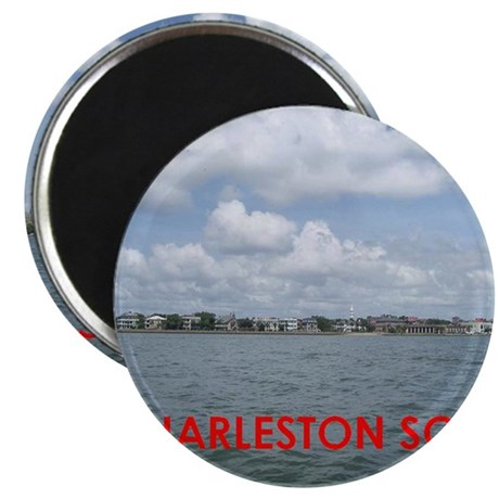 Charleston harbor Magnet
