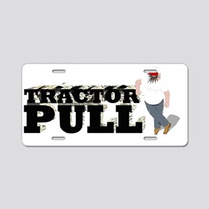 Tractor Pull T-Shirt Aluminum License Plate