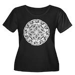 Celtic S Women's Plus Size Scoop Neck Dark T-Shirt