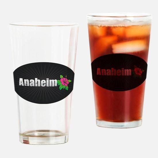 Anaheim Hibiscus Drinking Glass