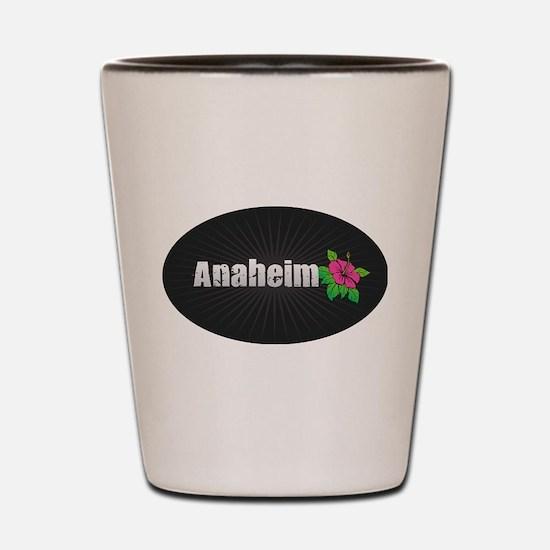 Anaheim Hibiscus Shot Glass