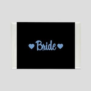 Bride - Blue Rectangle Magnet