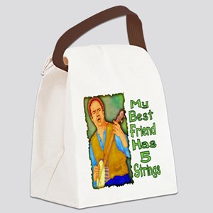 5 Strings Canvas Lunch Bag