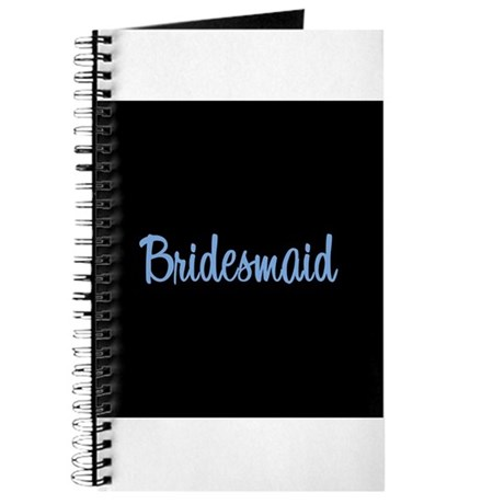 Bridesmaid - Blue Journal