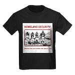 Homeland Security Native Pers Kids Dark T-Shirt