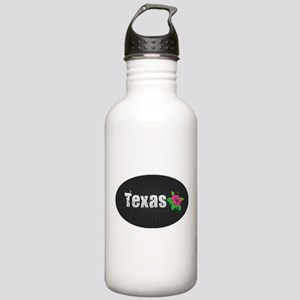 Texas Hibiscus Stainless Water Bottle 1.0L