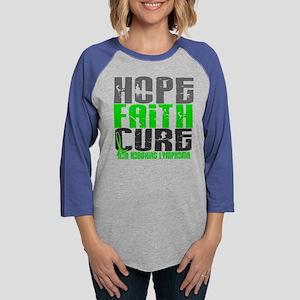 Hope Faith Cure NH Lymphoma Long Sleeve T-Shirt