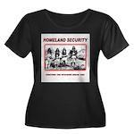Homeland Security Native Women's Plus Size Scoop N