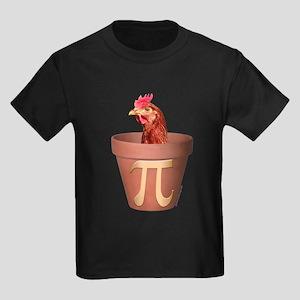 Chicken Pot Pi Kids Dark T-Shirt
