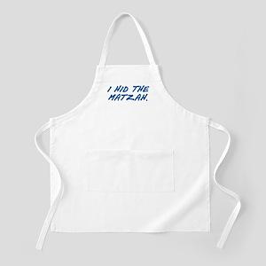 Matzah Blue BBQ Apron