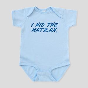 Matzah Blue Infant Bodysuit