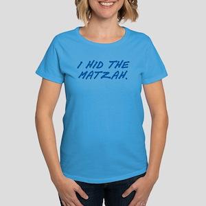 Matzah Blue Women's Dark T-Shirt