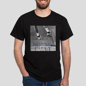Not My Fault Tennis Dark T-Shirt