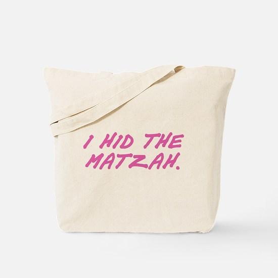 Matzah Pink Tote Bag