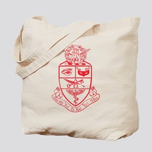 Kappa Psi Crest Outline Tote Bag