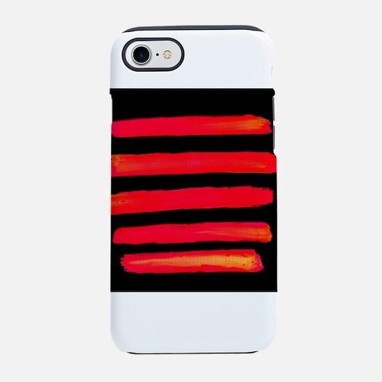 Natural Stripes iPhone 7 Tough Case