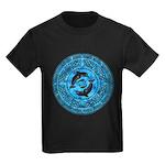Celtic Dolphins Kids Dark T-Shirt