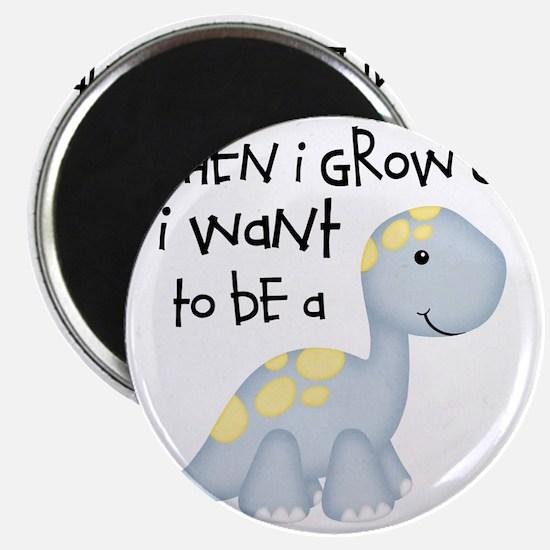When I Grow Up Dinosaur Magnet